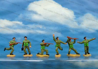 WWII-Briten-2.-Generation-Schwarzes-Barret-Fallschirmspringer